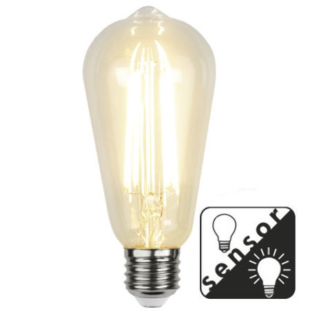 LED-LAMPA E27 ST64 Sensor Filament LED 353-70-5