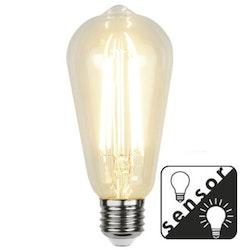 LED-LAMPA E27 ST64 Sensor Filament LED 330lm 353-70-5
