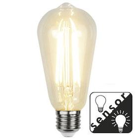 LED-LAMPA E27 ST64 Sensor Filament LED 353-70-5