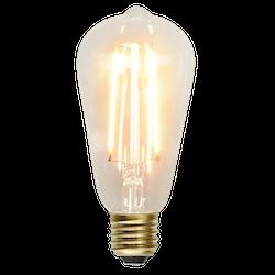LED-Lampa E27 ST64 Soft Glow 230lm 353-70