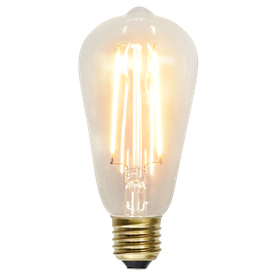LED-Lampa E27 ST64 Soft Glow 353-70