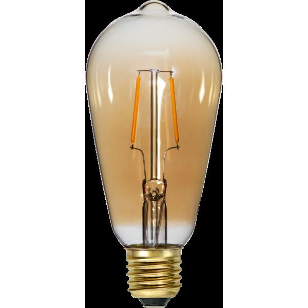 LED-Lampa E27 ST64 Soft Glow 355-70