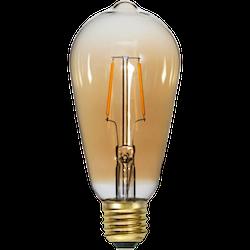 LED-Lampa E27 ST64 Soft Glow 80lm 355-70