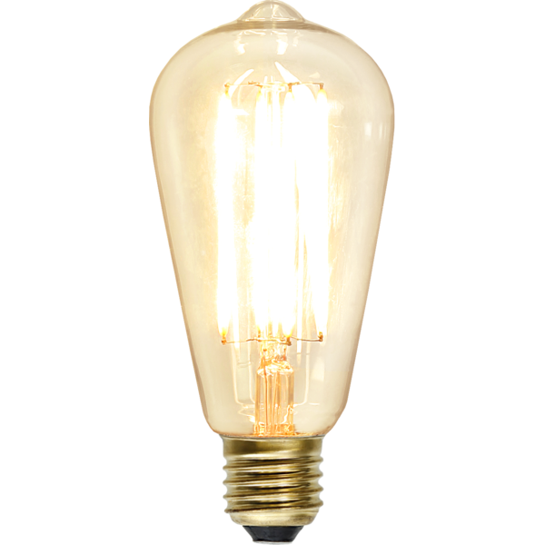 LED-Lampa E27 ST64 Soft Glow Dimmable 320lm 352-72