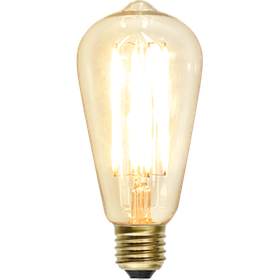 LED-Lampa E27 ST64 Soft Glow Dimmable 352-72