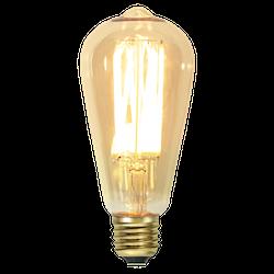 LED-Lampa E27 ST64 Vintage Gold 240lm 354-70
