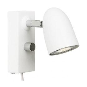 Belid Radiell V5812 Vägglampa LED Vit struktur