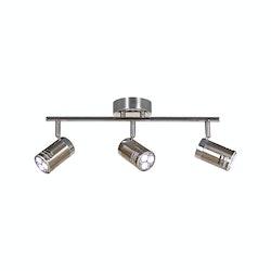 Scan Lamps Pipe 3L Spotlights LED Stål-krom