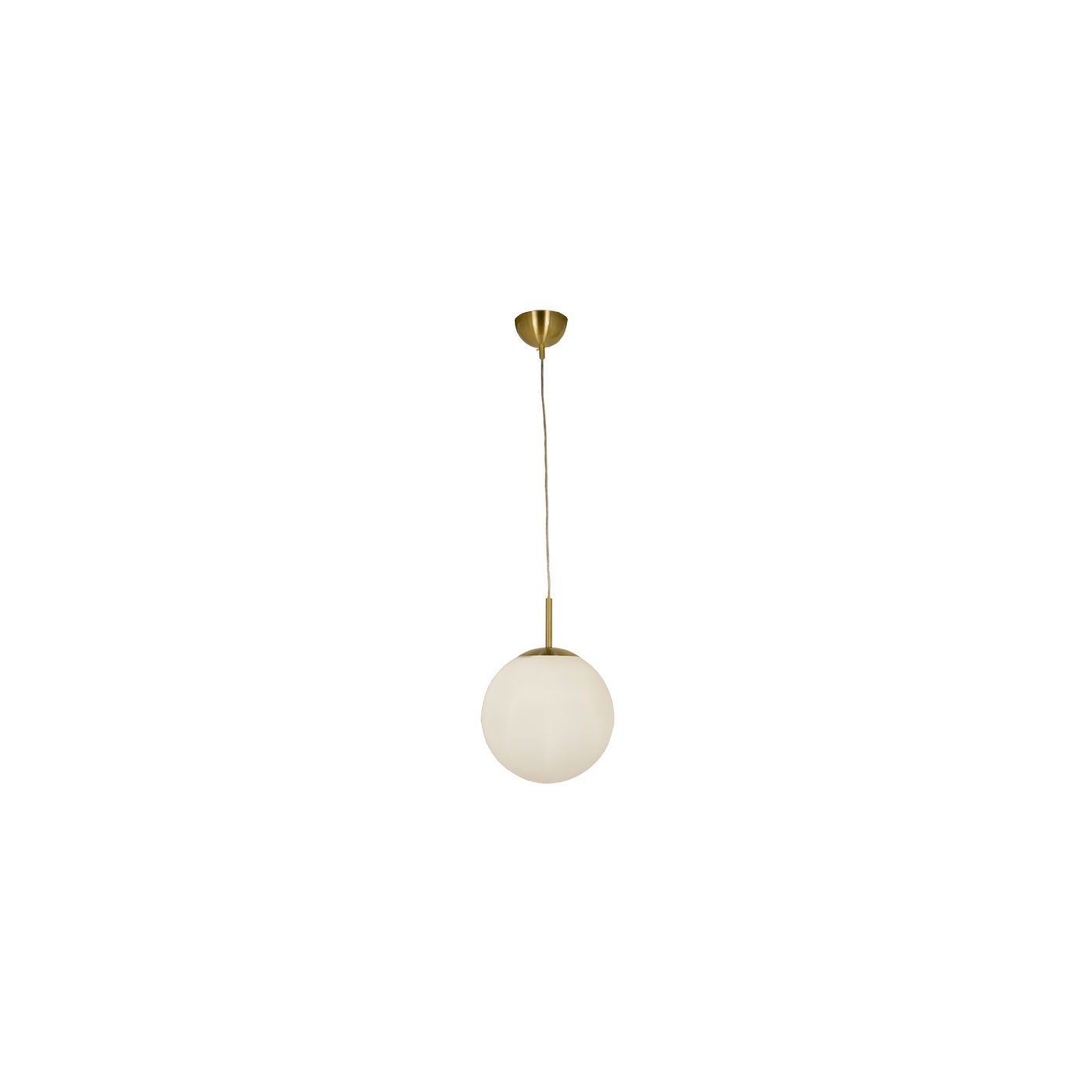 Scan Lamps Opal 30 cm Takpendel Matt mässing