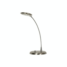 Aneta Moto Bordslampa LED Stål-krom