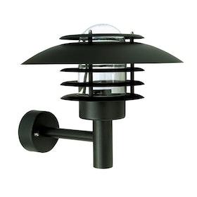 Belid Migi 2 U7132 Utelampa Vägg Svart Struktur