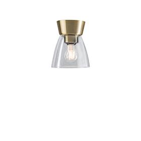 Belid Bizzo P2237 Plafond Mässing / Klart glas