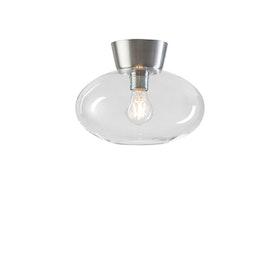 Belid Bullo P2236 Plafond Aluminium / Klar glas