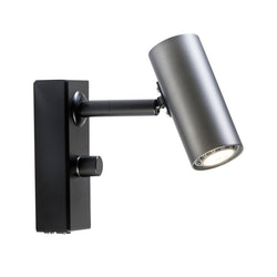 Belid Cato V5751 Vägglampa LED Oxidgrå/ svart