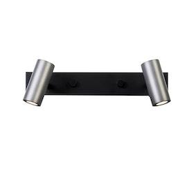 Belid Cato V5753 Vägglampa LED Svart / Oxidgrå