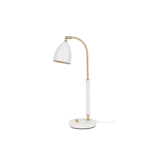 Belid Deluxe B4076 Bordslampa LED Vit/mässing