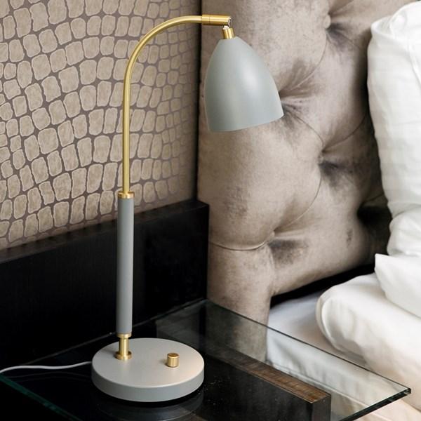 Belid Deluxe B4076 Bordslampa LED Svart/mässing