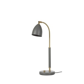 Belid Deluxe B4076 Bordslampa LED Varmgrå/mässing