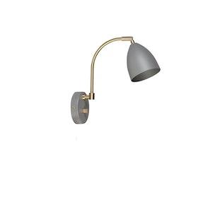 Belid Delux V5076 Vägglampa LED Varmgrå/mässing
