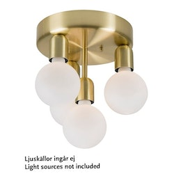 Belid Regal P2017 Plafond Mässing
