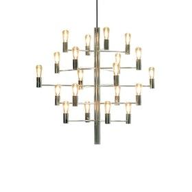 Herstal Manola 20 Ljuskrona LED Krom