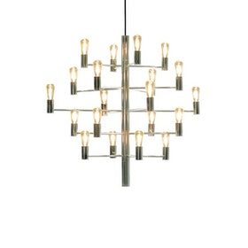 Herstal Manola 20 Dimbar LED Ljuskrona Krom