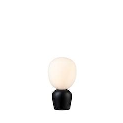 Belid Buddy Bordslampa Svartstruktur-Opal