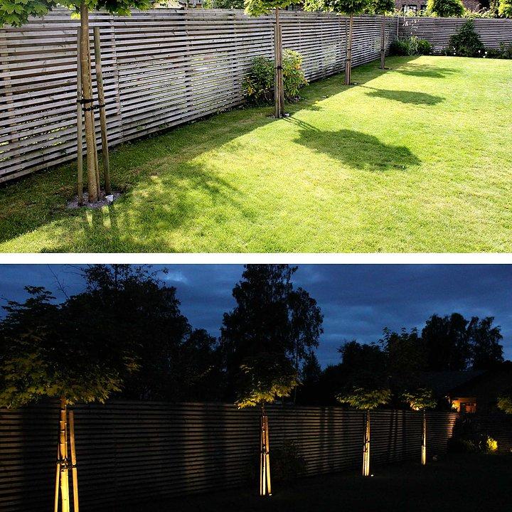 LightsOn Luminus Trädgårdslampa LED