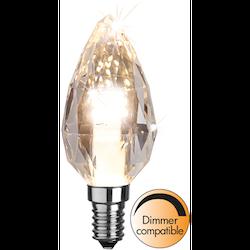 LED-Lampa E14 C35 Diamond 300lm 361-01