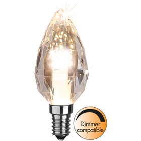 LED-Lampa E14 C35 Diamond 361-01