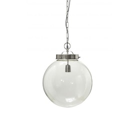 PR Home Normandy Ø40 Taklampa Silver