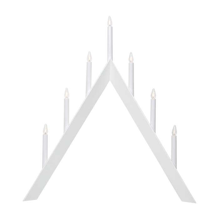 StarTrading Arrow Adventsljusstake Vit