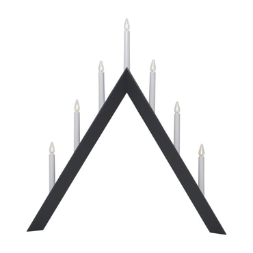 StarTrading Arrow Adventsljusstake Grå