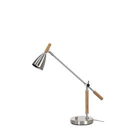 Belid Frank 2.0 B4159 Bordslampa LED Alu/Ek