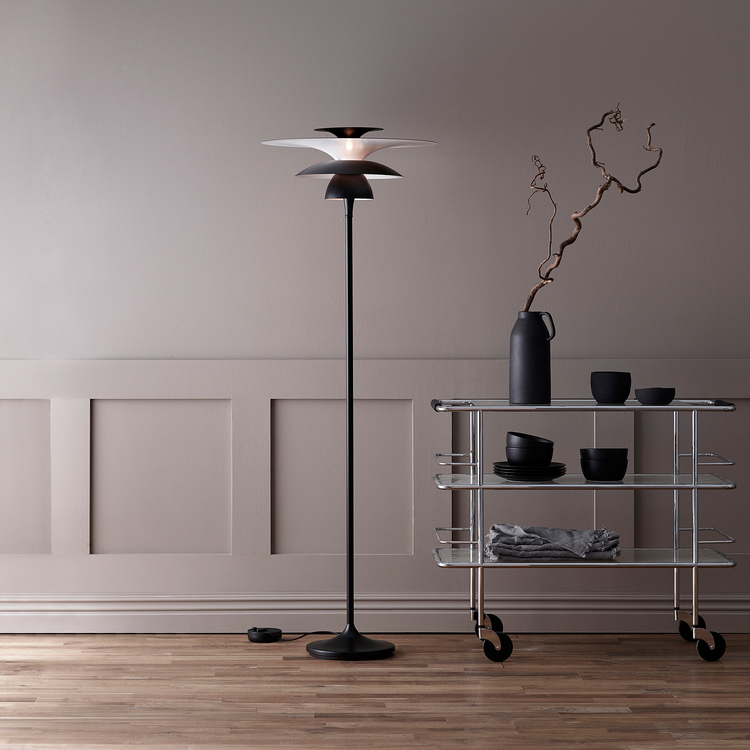 Belid Picasso G3293 Golvlampa LED Mattsvart