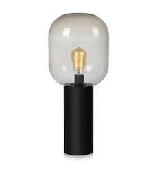 Markslöjd Brooklyn 56cm Bordslampa Svart/Rökfärgad