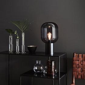 Markslöjd Brooklyn 44cm Bordslampa Svart/Rökfärgad