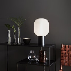 Markslöjd Brooklyn 44cm Bordslampa Svart/Opal