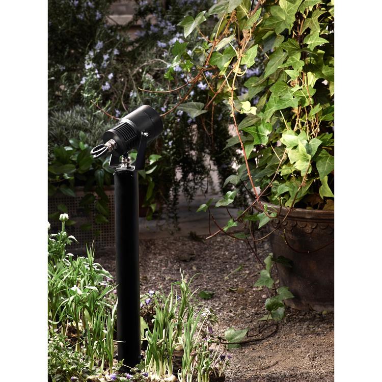 Markslöjd Garden 24 Spot 45cm 6W Svart
