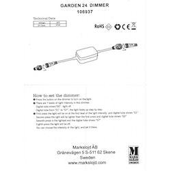 Markslöjd Garden 24 Dimmer