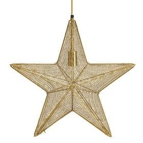 PR Home Orion Hanging Star Guld 60cm