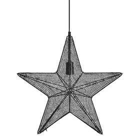 PR Home Orion Hanging Star Svart 60cm