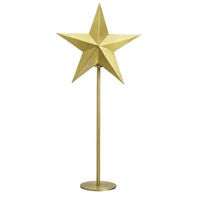 PR Home Nordic Star On Base Guld Höjd 76cm
