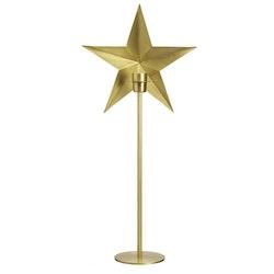PR Home Nordic Star On Base Guld Höjd 63 cm