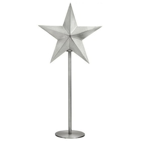 PR Home Nordic Star On Base Silver Höjd 76cm
