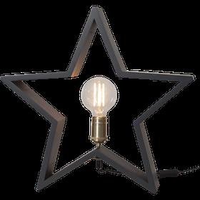 Startrading Stjärna Lysekil Grå Trä Höjd 48 cm