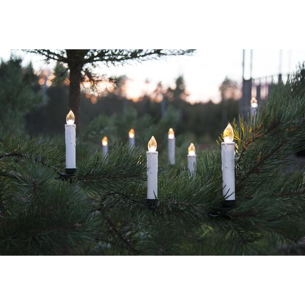 StarTrading Julgransbelysning Utomhus Trådlös/Timer