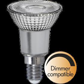 LED-Lampa E14 Glas PAR16 347-41