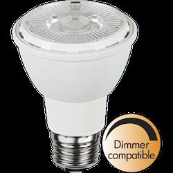 LED-Lampa E27 Vit PAR20 450lm 348-43