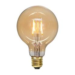 LED-Lampa E27 G95 Plain Amber 80lm 355-51